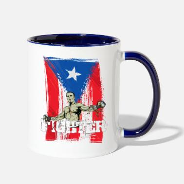 MMA Puerto Rico - Fighter - Two-Tone Mug
