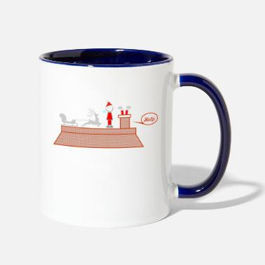 Care be careful - Two-Tone Mug