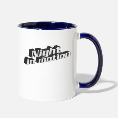 Motion Night In Motion - Two-Tone Mug