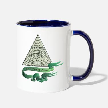 Greenback Dollar sigh - Two-Tone Mug