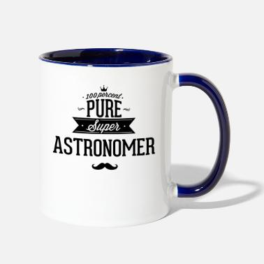 Super Star 100 percent pure super astronomer - Contrast Coffee Mug