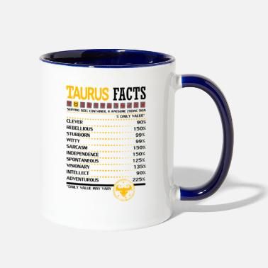 Taurus Taurus Facts Servings Per Container - Contrast Coffee Mug