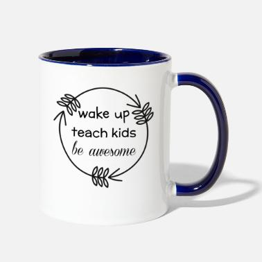Teach Teaching - Contrast Coffee Mug