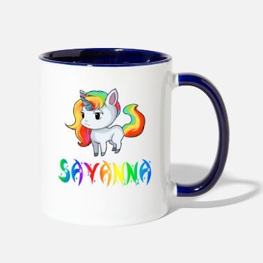 Savanna Savanna Unicorn - Two-Tone Mug