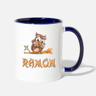 Ramones Ramon Owl - Two-Tone Mug