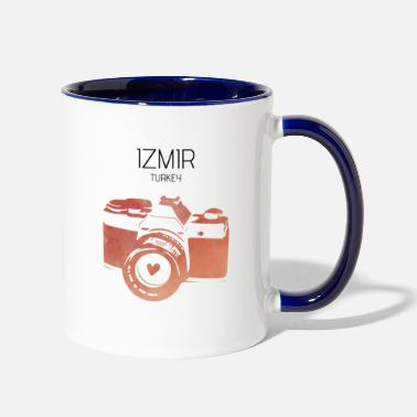 Izmir Turkey, Izmir - Two-Tone Mug