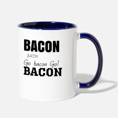 Bacon Bacon bacon and bacon - Contrast Coffee Mug