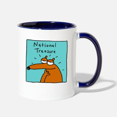 National national - Contrast Coffee Mug