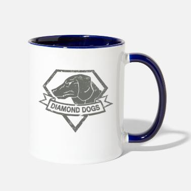 Gear diamond dogs - Two-Tone Mug