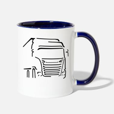 Vehicle Transport Vehicle - Two-Tone Mug