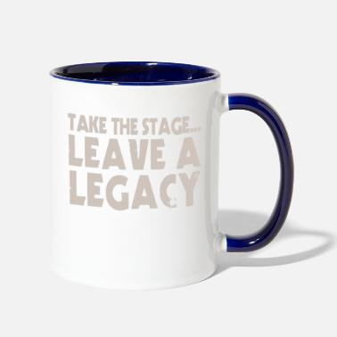 Stage Take The Stage - Two-Tone Mug