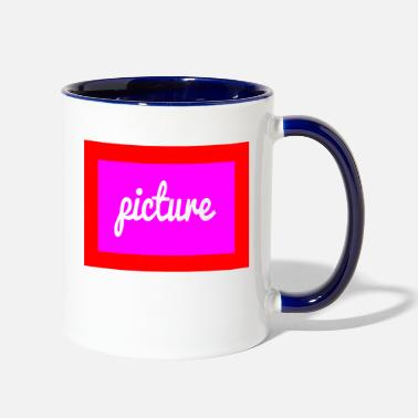 Picture picture - Two-Tone Mug