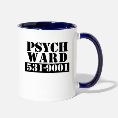 Psyche Psych Ward - Two-Tone Mug
