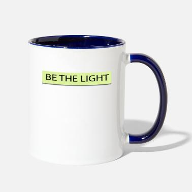 Light Be the light - Contrast Coffee Mug