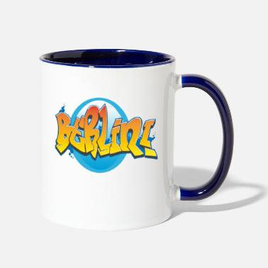 Graffiti Berlin Graffiti - Two-Tone Mug