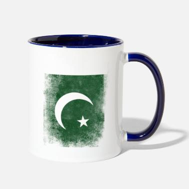 Pakistan Pakistan Flag Proud Pakistan Vintage Distressed - Two-Tone Mug