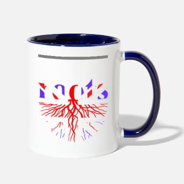 British Roots Tshirt - Two-Tone Mug