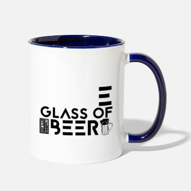 I Need a Huge Glass of Beer Drinking IPA Lover - Two-Tone Mug