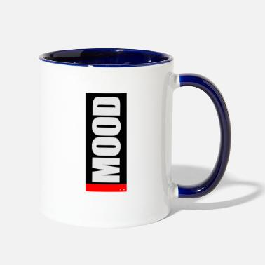 Mood MOOD funny Battery Design Tshirt - Two-Tone Mug