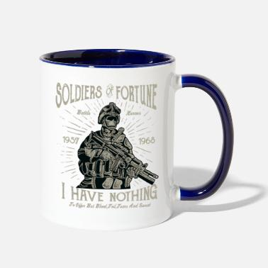 Soldier Of Fortune Soldiers Of Fortune 2 - Two-Tone Mug