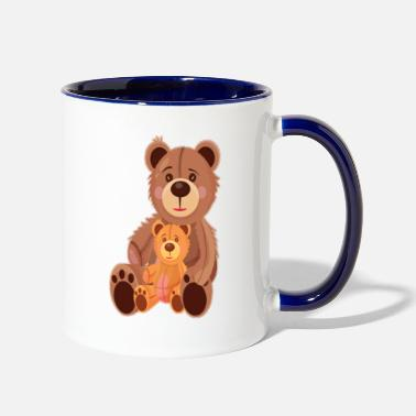 Teddy Bear Teddy Bears - Two-Tone Mug