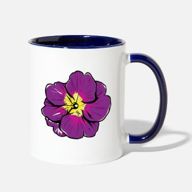 Design Flower Design Shirt - Two-Tone Mug