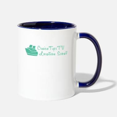 Cruise Cruise Tips TV Location Scout - Two-Tone Mug
