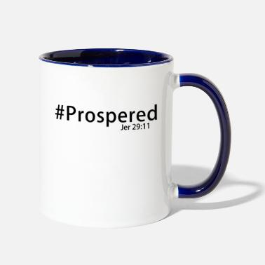 Prosperity #Prospered Black - Two-Tone Mug