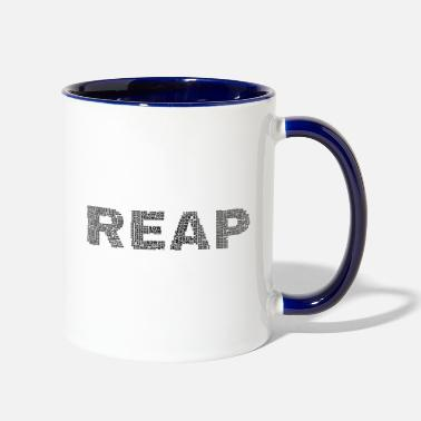 Sow reap sow - Two-Tone Mug
