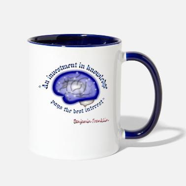Wisdom Words of wisdom - Two-Tone Mug