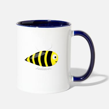 Insect beeliver - Two-Tone Mug