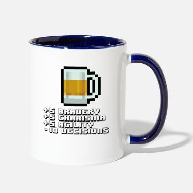 Stat BEER STATS - Two-Tone Mug