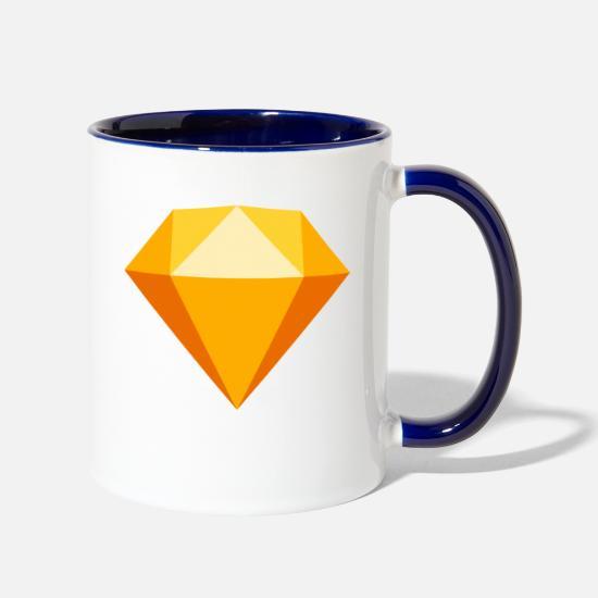 Sketch App Two-Tone Mug | Spreadshirt