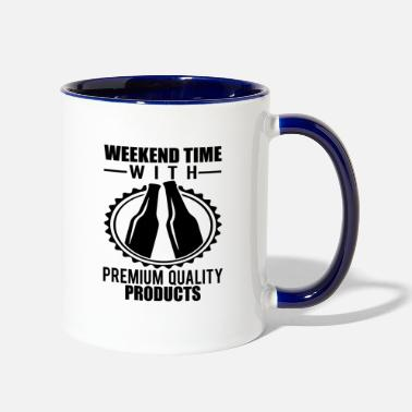 Weekend weekend - Two-Tone Mug