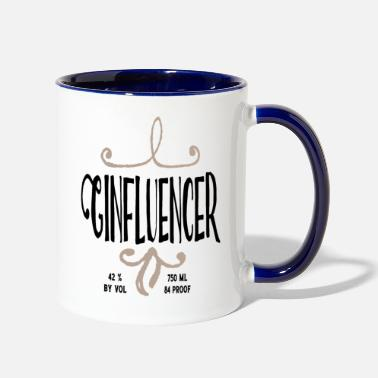 Miscellaneous Ginfluencer - Contrast Coffee Mug