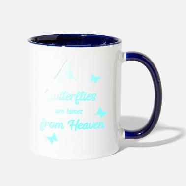 Heaven Butterfly Butterflies Wonderful Gift - Two-Tone Mug