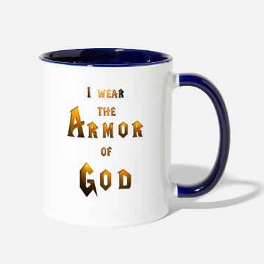 Armor of God - Two-Tone Mug