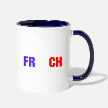 Look Good Smart Good Looking French - Contrast Coffee Mug