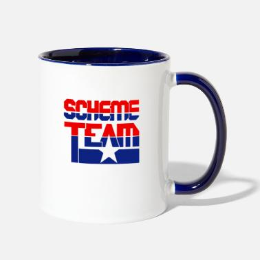 SCHEME TEAM COLLECTIVE - Two-Tone Mug
