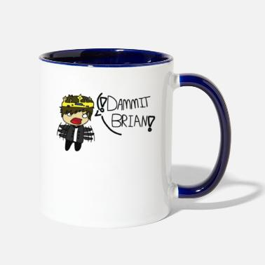 Collections The DAMMIT BRIAN Collection! (Collection 1) - Contrast Coffee Mug