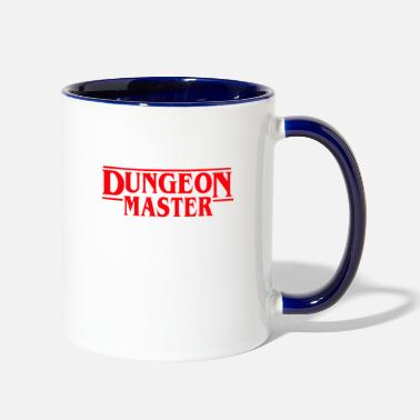 Master Dungeon Master - D&D Dungeons and dragons dnd - Two-Tone Mug