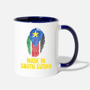 South Made In South Sudan - Contrast Coffee Mug