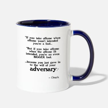 Offensive Taking Offense - Two-Tone Mug