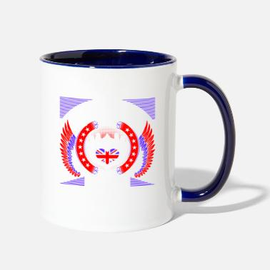 British Queens Are Born In September - Two-Tone Mug
