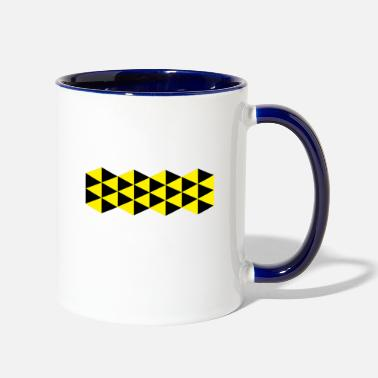 Yellow yellow - Contrast Coffee Mug
