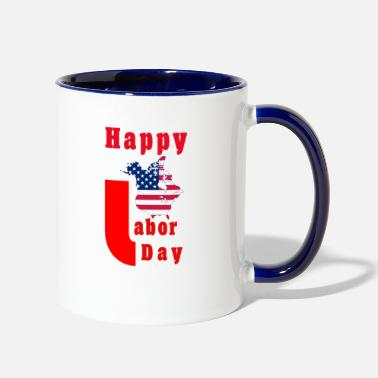 Labor hliday labor - Contrast Coffee Mug