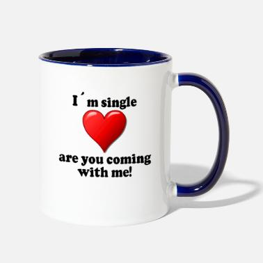 Single Single - Contrast Coffee Mug