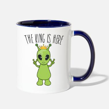Alians The king is here! - Two-Tone Mug
