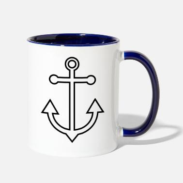 Anchor anchor - Two-Tone Mug