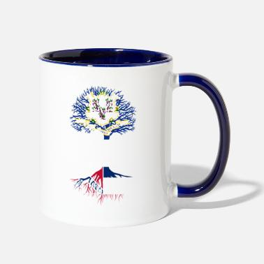 Living in Connecticut With Mississippi Roots - Two-Tone Mug
